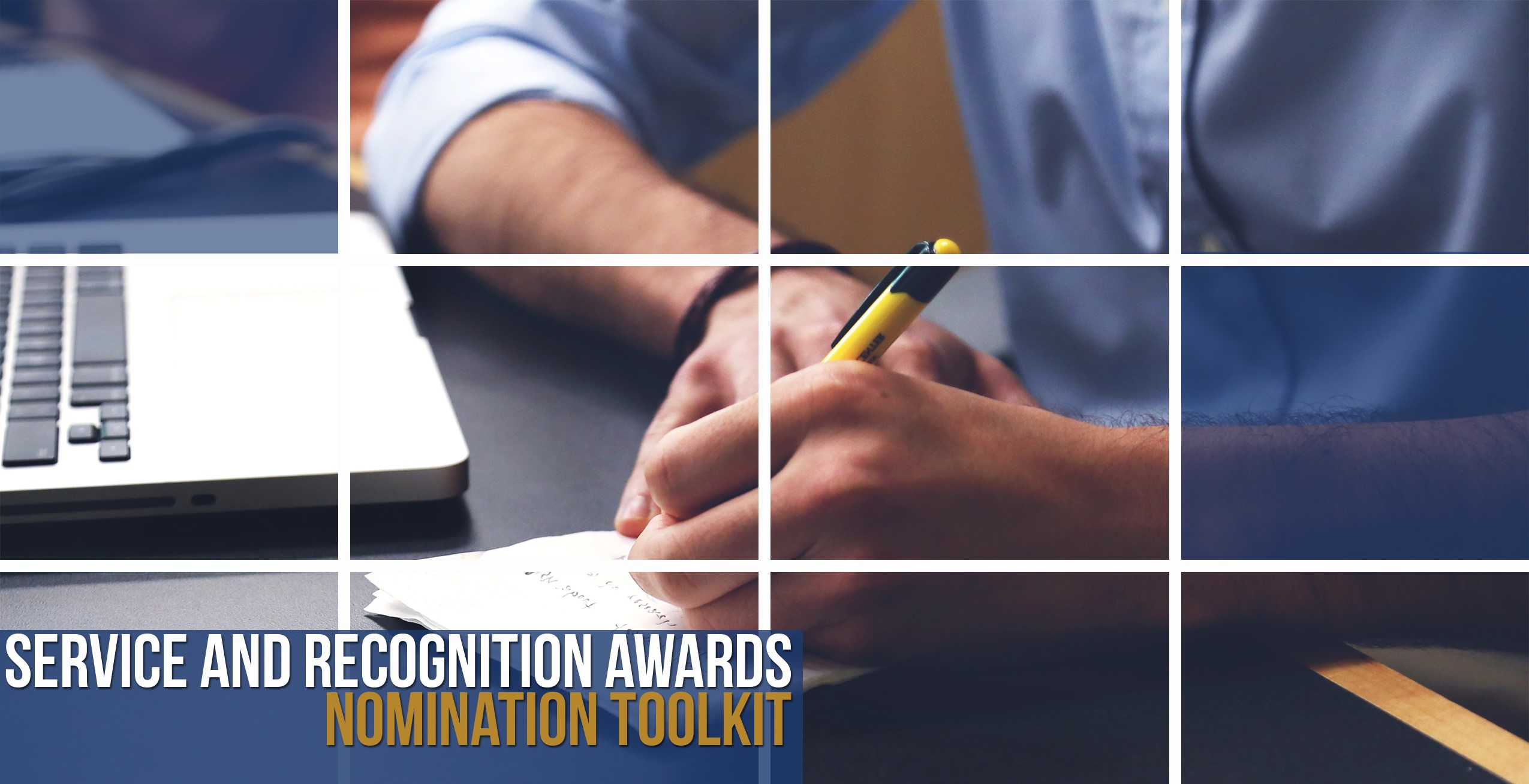 Service and Recognition Awards: Nomination Toolkit