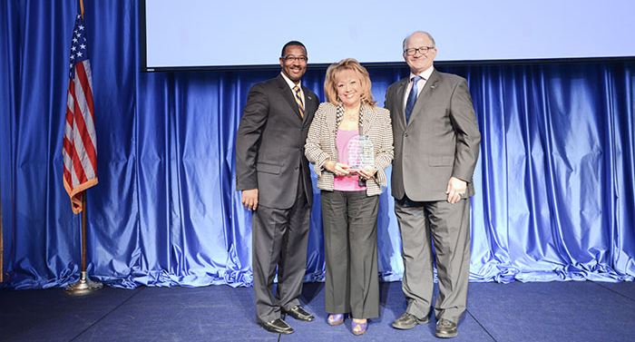 Ruth Hamilton, Recipient of the FIU Opportunity Award