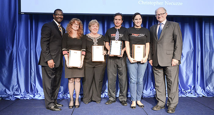 The TEDxFIU Team, Finalist of the Presidential Excellence Award