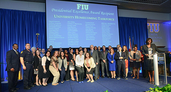 University Homecoming Taskforce, Recipient of the Presidential Excellent Award